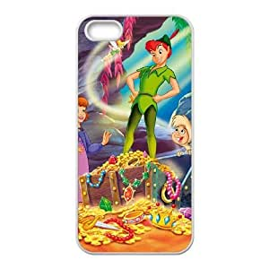 iPhone 5 5s Phone Case Cover White Disney Peter Pan Character Nibs EUA15988057 Best Phone Cases