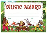 30 x Music Award Kids Certificates for Teachers and Schools