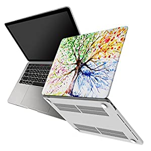 "Macbook Pro 13 inch Case W/Without Touch Bar 2016&2017 Release 3 in 1 Bundle Soft Touch Hard Shell Cover,Waterproof Canvas Laptop Sleeve,Silicone Keyboard Cover For MacBook Pro 13"" A1706/A1708"