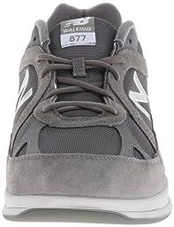 New Balance Men\'s MW877 Walking Shoe,Grey,10 4E US