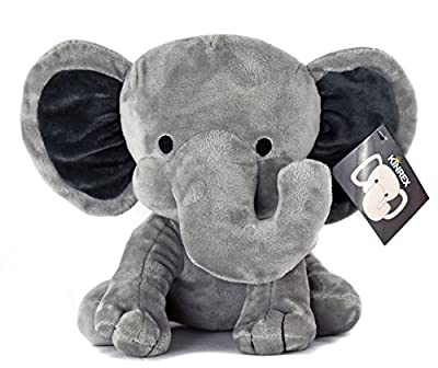 KINREX Elephant Plush - Measures 9 Inches - Grey - Stuffed Animal - Baby Toy by KINREX that we recomend individually.