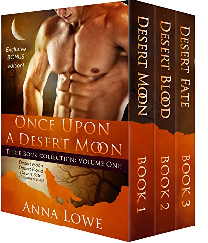 Once Upon a Desert Moon: Three Book Collection - Volume 1 (Crossing Over Anna)