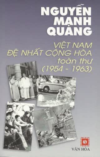 Viet Nam De Nhat Cong Hoa toan thu (1954-1963) Tap 1