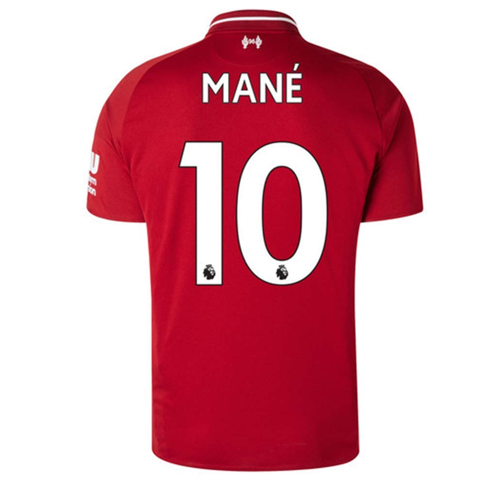 brand new 12d2d 2f155 Mane 10 Liverpool Home 2018-2019 Men's Socce Jersey
