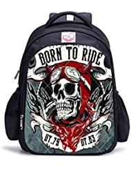 MATMO Halloween Bag Skull Backpack Kids Backpack Bookbag for Boys and Girls