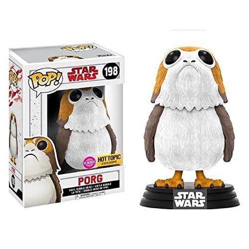 Funko Pop! Star Wars The Last Jedi Porg #198 (Flocked)