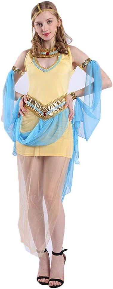 CAGYMJ Dress Party Mujer Vestido,Cosplay Sexy Diosa Griega ...
