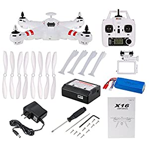 Goolsky BAYANGTOYS X16 2.4G 4CH 6-axis Gyro Brushless GPS Quadcopter RC Drone with Gimbal RTF Headless Mode Altitude Hold Function from Goolsky