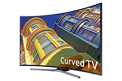 Samsung UN55KU650DFXZA 4k 55 Curved LED TV, Black (Certified Refurbished)