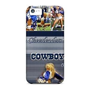 Hot Design Premium HVW8474BJTR Tpu Cases Covers Iphone 5c Protection Cases(dallas Cowboys)