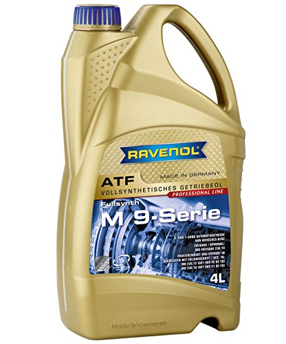 Shell 004 Series - Ravenol J1D2170 ATF (Automatic Transmission Fluid) - M 9-Series MB 236.14, MB 236.12, MB 236.10 Approved (4 Liter)