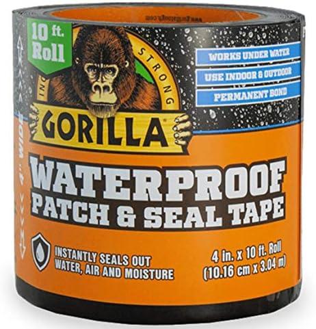 Gorilla 4612502 Waterproof Patch Black product image