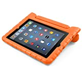 iPad Case, BUDDIBOX [EVA Series] Shock Resistant [Kids Safe][STAND Feature] Carrying Case for Apple iPad 2, iPad 3, iPad 4, and Retina, (Orange)
