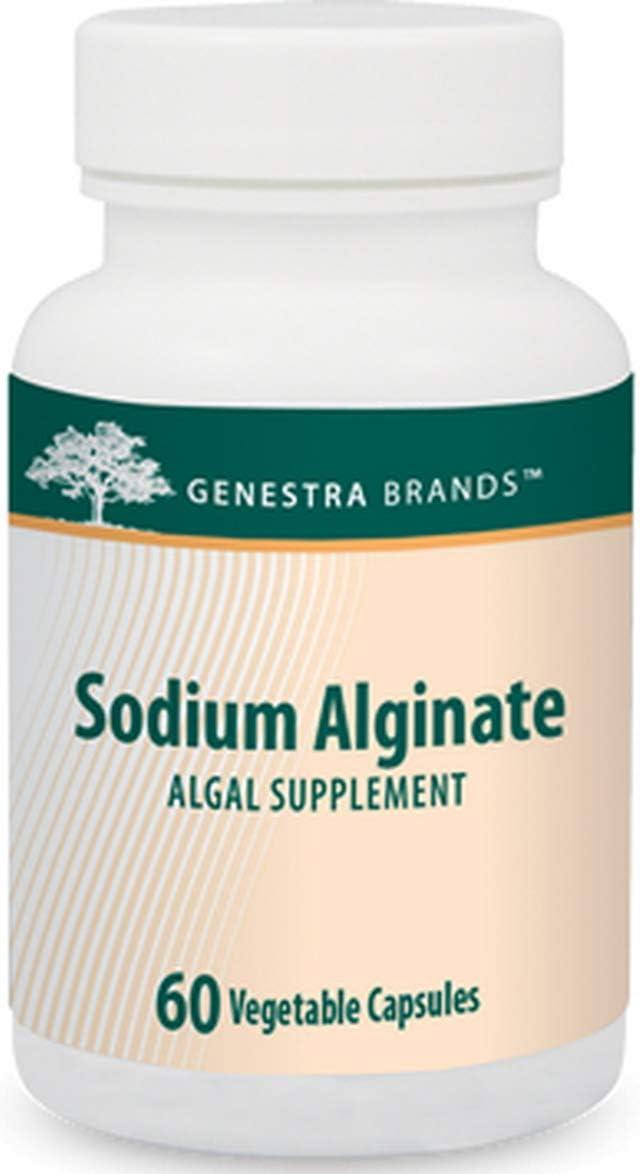 Genestra Brands - Sodium Alginate - Antioxidant for The Maintenance of Good Health - 60 Capsules: Health & Personal Care