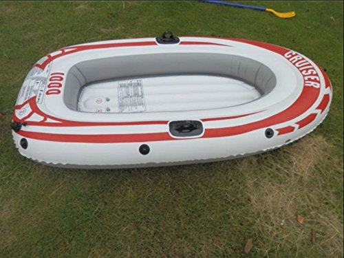 Amazon.com: Bote inflable kayak y canoa Raft 2 personas ...