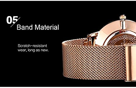 Amazon.com: Yunanwa Mens watches watch Stainless Steel Classic Luxury Business Casual Watches Waterproof Calendar Quartz Mesh Band Wrist Watch: Watches
