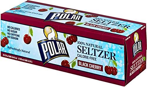 Polar Beverages Black Cherry Seltzer, 12 pk, 12 fl oz