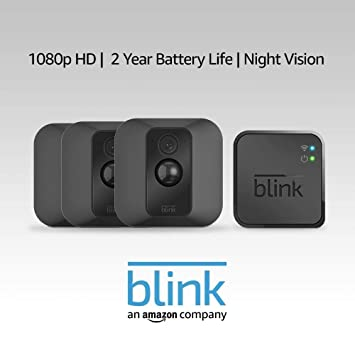 c58913b84bc7 Amazon.com  Blink XT Home Security Camera System with Motion Detection