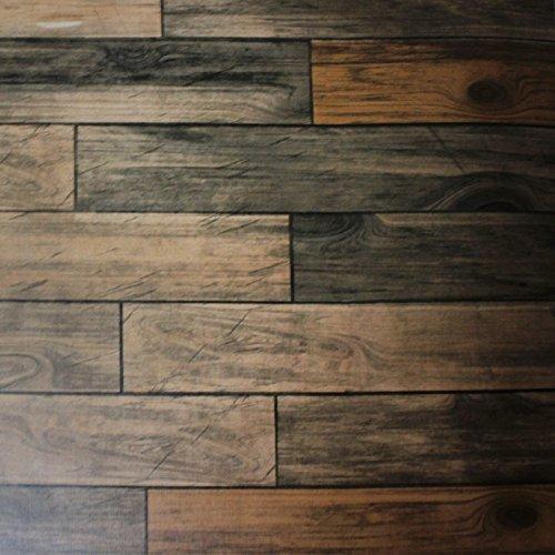 Rouleau adhésif décoratif 45cm x 2m bois rustique Bonita