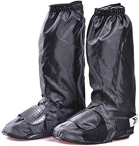 ウェアラブルオートバイの靴カバーに乗るのに適した再利用可能な靴カバー、防風および防水滑り止めの靴カバー暖かい靴カバー,L