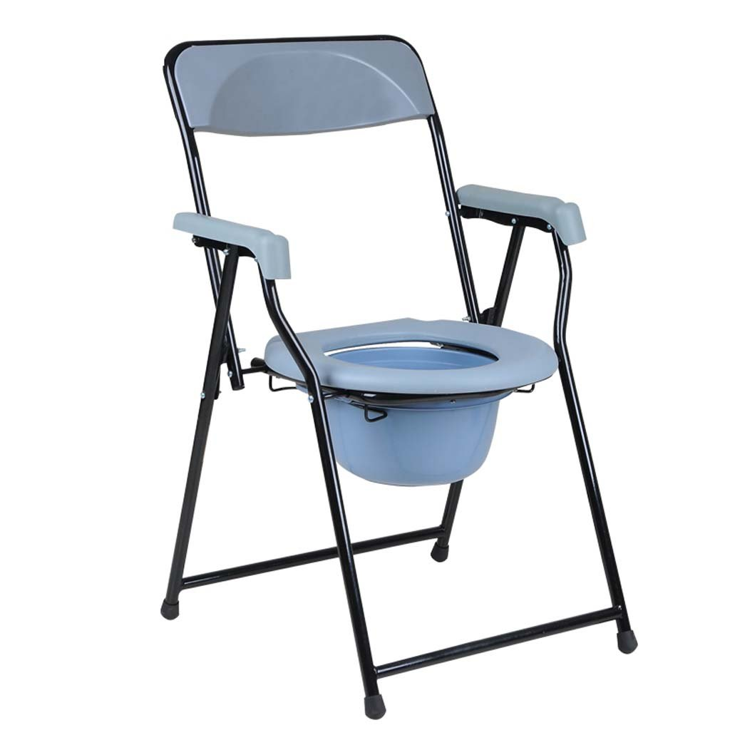 【格安SALEスタート】 家庭の照明- 寝たきりの椅子のトイレステンレス鋼妊娠中の女性は、高齢者45* 51 51 B07DK6QBWF** 83cmを無効に B07DK6QBWF, WYNNKENGEOFU:684dd962 --- vilazh.indexis.ru:443