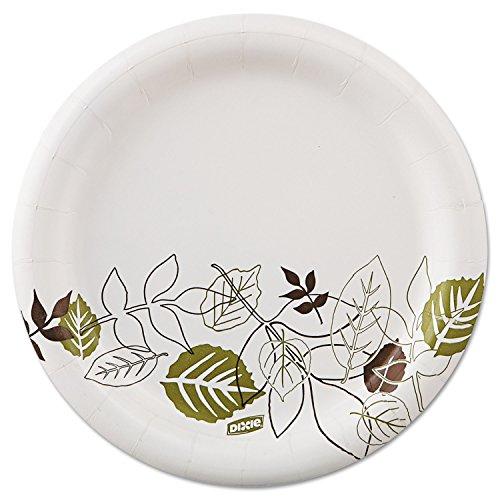 Dixie Pathways Design Everyday Paper Plates - 6.88amp;quot; Diameter Plate - 125/Pack