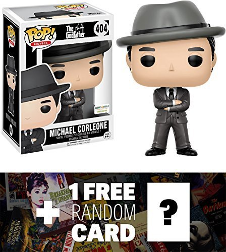 Galleon - Michael Corleone (B N Exclusive)  Funko POP! Movies X Godfather  Vinyl Figure + 1 FREE Classic Movie Trading Card Bundle (13528) 45a408052f39