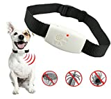 Dog Flea Treatment Collar - MATOP Ultrasonic Pet Dog Cat Pest Repeller Collar Anti Fleas Ticks Natural Treatments of Controlling and Prevention Insect