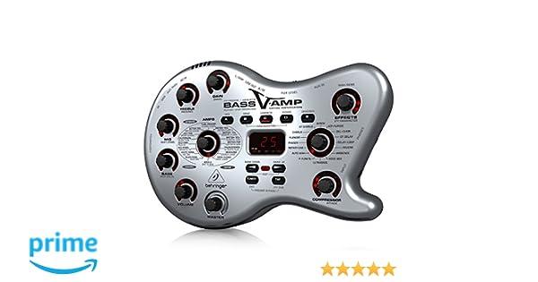 Behringer Bass V-AMP LX1B caja de herramientas de Tono para Bajo/Guitarra acústica/eléctrica: Amazon.es: Bricolaje y herramientas