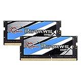 32GB G.Skill 2400MHz DDR4 SO-DIMM Laptop Memory Upgrade Kit (CL16) 1.20V PC4-19200 Ripjaws 2x16GB