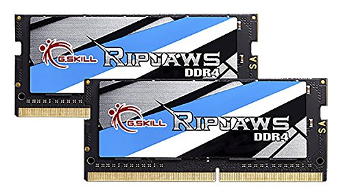 G.SKILL 32GB (2 x 16G) Ripjaws Series DDR4 PC4-19200 2400MHz 260-Pin Laptop Memory Model F4-2400C16D-32GRS