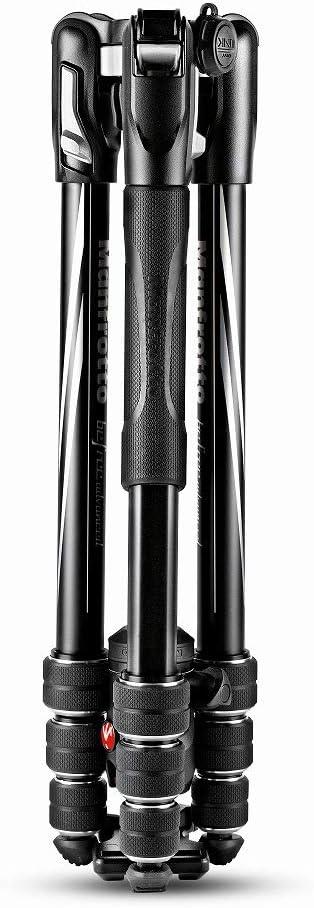 Up to 8 kg with Tripod Bag CSC Black Nikon Twist Lock with Ball Head for Canon Manfrotto MKBFRTA4BK-BH Befree Advanced Travel Tripod Lightweight Aluminium DSLR Sony Mirrorless