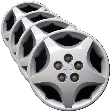OEM genuino mm rueda – juego de funda nórdica (fábrica de repuesto tapacubos para Chevrolet