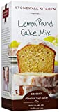 Stonewall Kitchen Lemon Pound Cake Mix, 19 Ounce Box