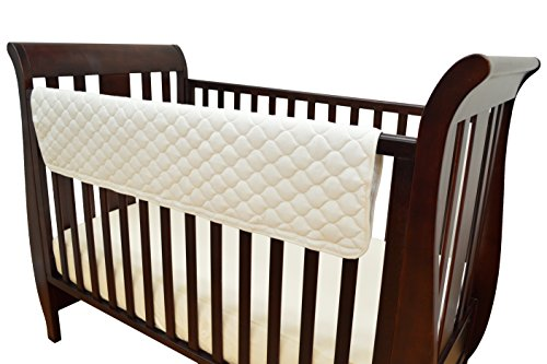TL Care Organic Cotton Front Crib Rail (Tl Care Organic Cotton)