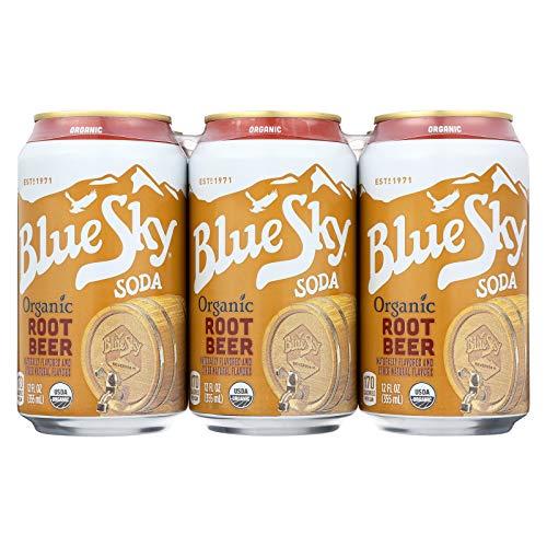 Blue Sky, Soda, Og2, Root Beer, Pack of 4, Size - 6/12 OZ, Quantity - 1 Case