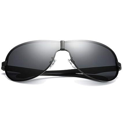 Gafas de moda Gafas de sol de conducción for hombre, negras ...
