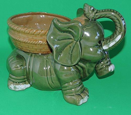 Amazon Jmbamboo Jumbo Size Elephant Ceramic Vase 7 Inches