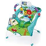 Cadeira de Descanso Musical e Vibratória Color Square, weeler, Multicolorido, Médio