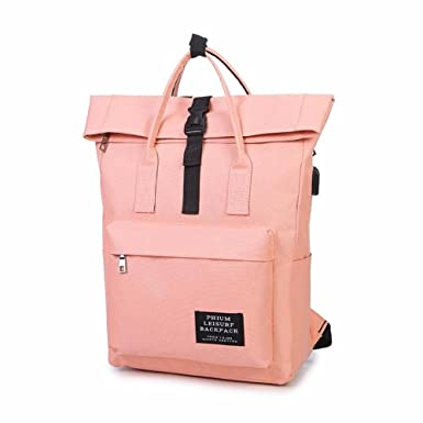 08b02a79f6c2 Amazon.com | Virtual Store USA Women External USB Charge Backpack ...