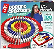 H5 Domino Creations 100-Piece Set by Lily Hevesh, for Families and Kids Ages 5 and up
