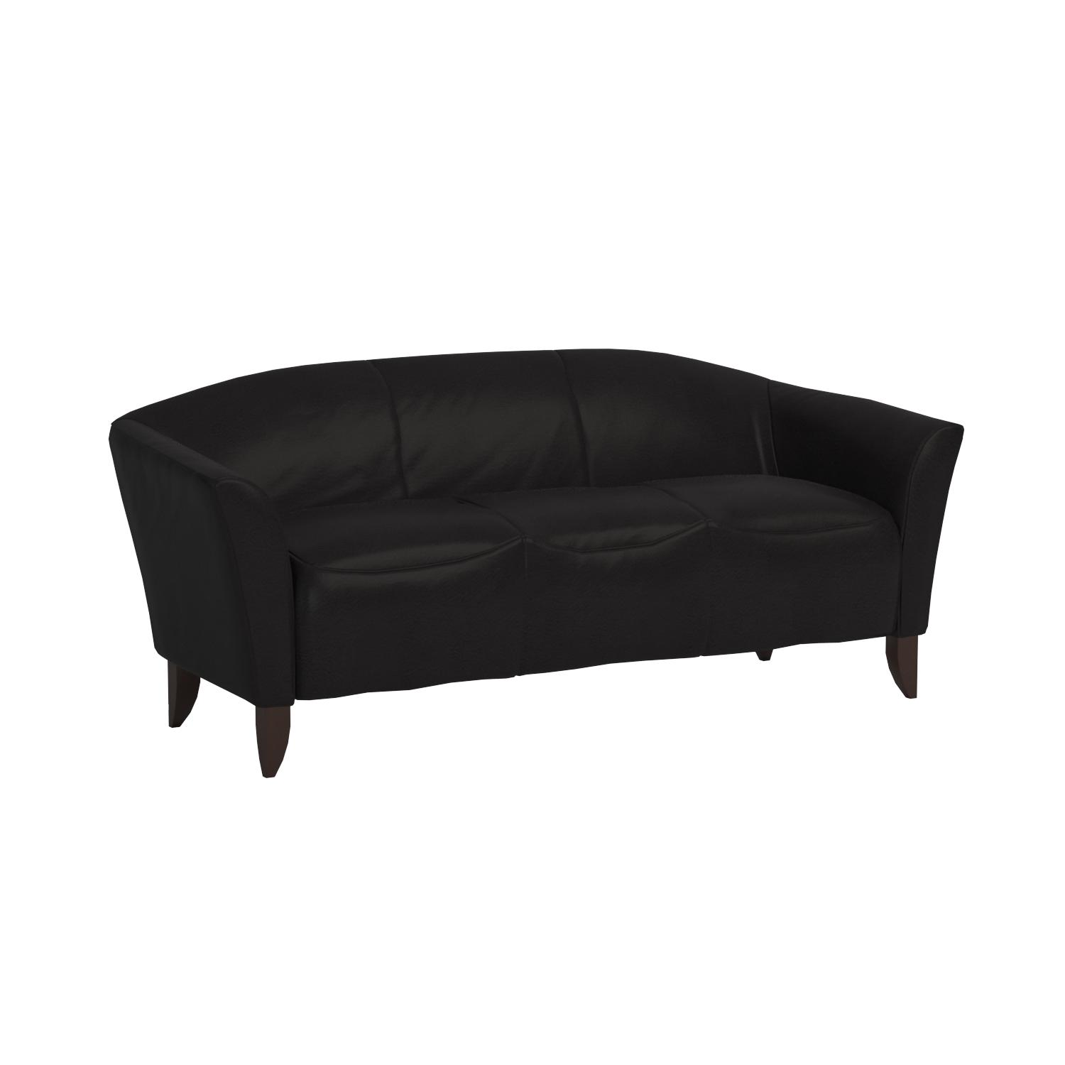 Amazon Flash Furniture HERCULES Imperial Series Black Leather