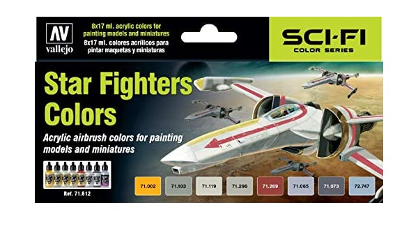 Amazon.com: Paint Sets Vallejo Star Fighters: Toys & Games