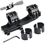 bestsight 3 Side Rail 20mm Picatinny Mount for Rifle Scope Rings 1 inch/ 30mm Cantilever Dual Ring Adjustable Shooting (NEW-3-3) For Sale