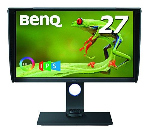 BenQ カラーマネージメントモニター ディスプレイ SW271 27インチ/4K UHD/HDR対応/IPS/DP,HDMI,USB Type C(電源供給なし)搭載/遮光フード付のサムネイル画像
