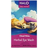 Halo Cloud Nine HERBAL EYE WASH Opens Clogged Tear Ducts Dogs Cats .25 oz