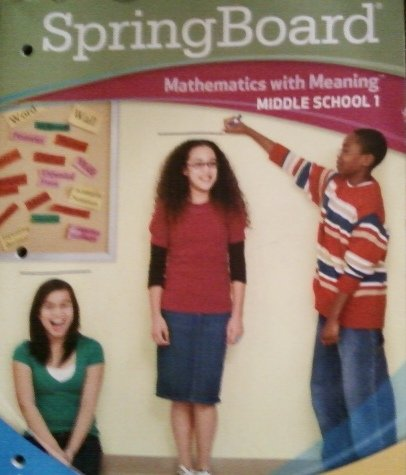 Read Online Mathematics with Meaning (Middle School 1, Level 1) PDF