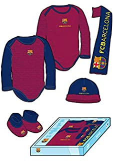 Licencias Pack Recién Nacido F.C. Barcelona Granate/Marino ...
