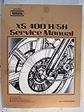 Yamaha XS400H/SH (SJ) Genuine Yamaha Service Manual (Part # LIT-11616-XS-42) (Genuine Yamaha Service Manuals)