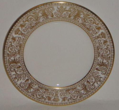 Florentine Bread - Wedgwood Florentine Gold W4219 Bread & Butter Plate